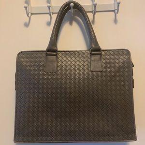 Bottega Veneta Briefcase Gray